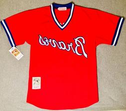 1980 Dale Murphy Atlanta Braves Red Jersey Size Men's Medium