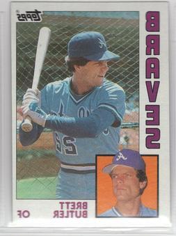1984 Topps Baseball Atlanta Braves Team Set