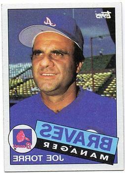 1985 Topps Atlanta Braves Team Set