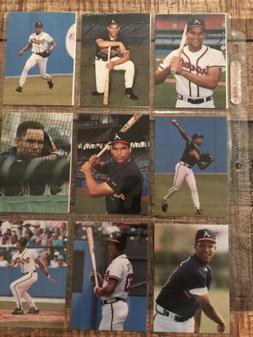 1991 Barry Cola David Justice Blue 13-card Set Atlanta Brave