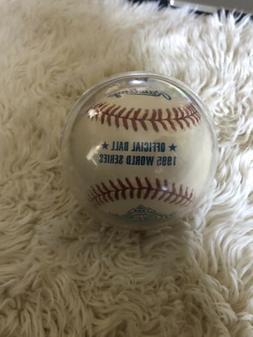 Rawlings 1995 World Series Official MLB Game Baseball - Atla