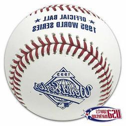 Rawlings 1995 World Series Official MLB Game Baseball Atlant