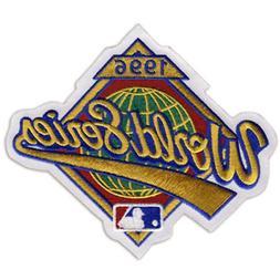 1996 MLB World Series Logo Jersey Sleeve Patch Atlanta Brave