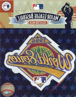 1996 World Series Sleeve Patch New York Yankees Atlanta Brav