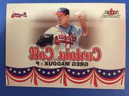 2002 Fleer Tradition Update #U367 Curtain Call Greg Maddux A