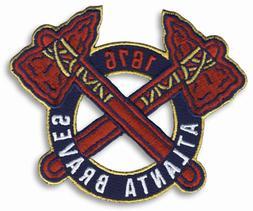 2012 '1876' Atlanta Braves New Alternate Home Logo Sleeve Je