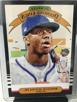 2019 Donruss Baseball Base Diamond Kings #16 Ronald Acuna Jr