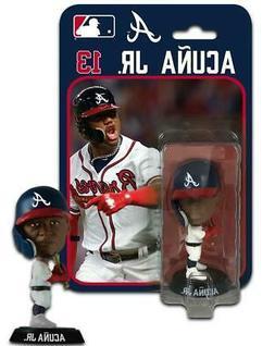 2019 Ronald Acuna Atlanta Braves Imports Dragon 4 Inch Bobbl