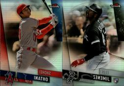 2019 topps finest refractor singles w rc
