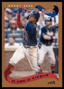 2020 Archives Base #241 Ronald Acuña Jr. - Atlanta Braves