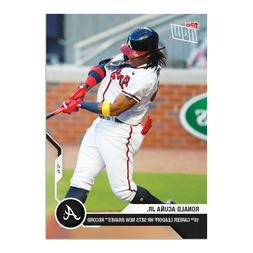 2020 TOPPS NOW #216 RONALD ACUNA JR ATLANTA BRAVES 18TH CARE
