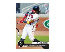 🔥2020 TOPPS NOW #216 RONALD ACUNA JR. ATLANTA BRAVES 🔥