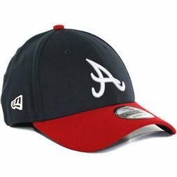 "New Era 39Thirty Atlanta Braves HOME ""Team Classic"" Hat  MLB"