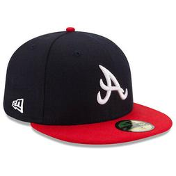 New Era 5950 Youth Atlanta Braves HOME Fitted Hat  MLB Cap