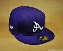 NEW ERA 59Fifty Hat MLB Atlanta Braves Mens Fitted Baseball