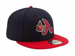 New Era 59Fifty MLB Cap Atlanta Braves Alternate Authentic O