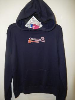9521 WOMENS MLB LICENSED Apparel ATLANTA BRAVES Hoodie Jerse