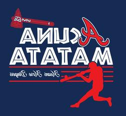 acuna matata shirt atl atlanta braves baseball