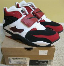 Nike Air Diamond Turf Shoes 2011 Deion Sanders Black Red Whi