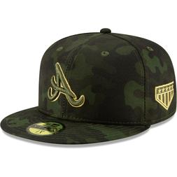 Atlanta Braves New Era 2019 Armed Forces Day On-Field 59FIFT