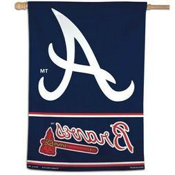 ATLANTA BRAVES ~  Official MLB 28x40 Outdoor House Flag Bann