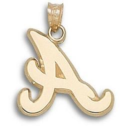 Atlanta Braves A 14 kt Gold Pendant
