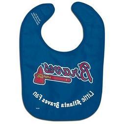 Atlanta Braves All-Pro Baby Bib  MLB Infant Newborn Polyeste