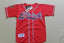 Atlanta Braves Alternate Red Jersey w/Tags  Size 44