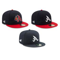 Atlanta Braves ATL MLB Game Authentic 59FIFTY Fitted Cap - 5
