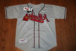 Atlanta Braves Away Gray Jersey w/Tags  Size 40