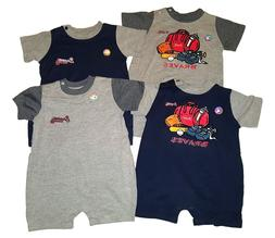 Atlanta Braves Baby Infant Creeper Team Colors Choose Romper