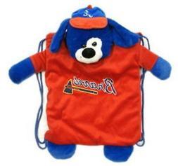 Atlanta Braves Backpack Pal  MLB String Bag Backsack Back Sa