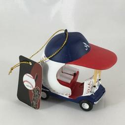 Atlanta Braves Baseball Field Car Team Ornament MLB Team Spo
