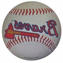 Atlanta Braves Baseball Magnet - 3 Inches  MLB Auto Truck Ca