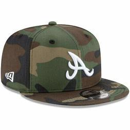 Atlanta Braves New Era Basic 9FIFTY Snapback Hat - Camo