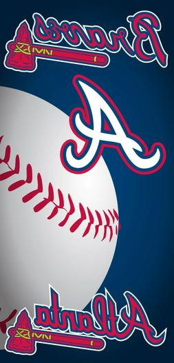 Atlanta Braves Beach Towel