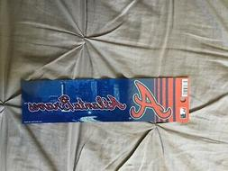 "ATLANTA BRAVES ""BLING"" BUMPER STICKER"