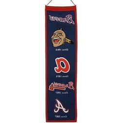 Atlanta Braves Heritage Banner Wool Retro Banner