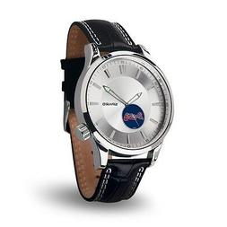 Atlanta Braves Icon Men's Watch  Jewelry Leather Stainless S