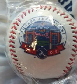 atlanta braves inaugural season baseball suntrust park