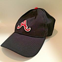 Atlanta Braves Ladies Baseball Hat adjustable ribbon tie cap
