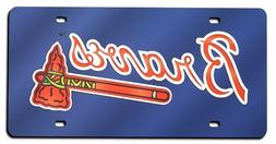 Atlanta Braves License Plate Tag