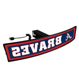 Atlanta Braves Light Up Hitch Cover - LED Illuminated Traile
