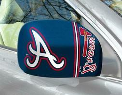 Atlanta Braves Mirror Cover 2 Pack - Small Size  MLB Car Aut