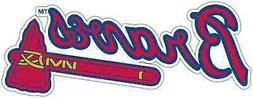 Atlanta Braves MLB Baseball Car Bumper Window Sticker Decal