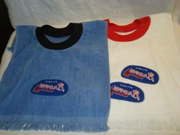atlanta braves mlb baseball handmade tea towel