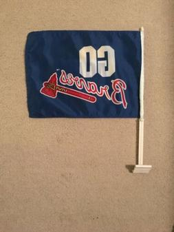 Atlanta Braves MLB Car Flag