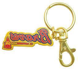 Atlanta Braves MLB Logo Key Chain