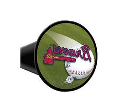 "Atlanta Braves MLB Plastic Trailer Hitch Cover for 2"" receiv"