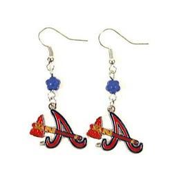 Atlanta Braves MLB Sophie Style Dangle Earrings